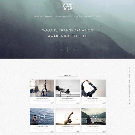 the cat yoga online