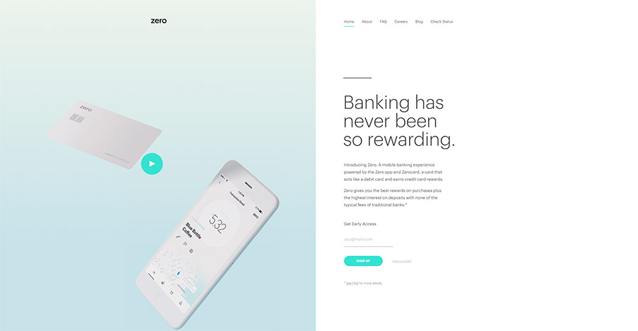 zero banking