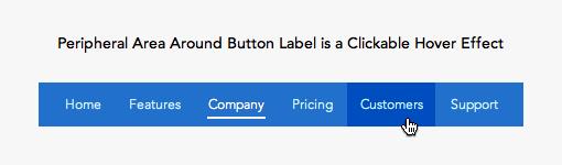 导航栏中应该整个按钮都作为可点击链接出现