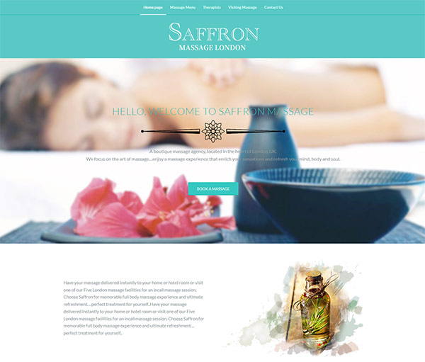 Saffron Massage Treatment 英国,伦敦
